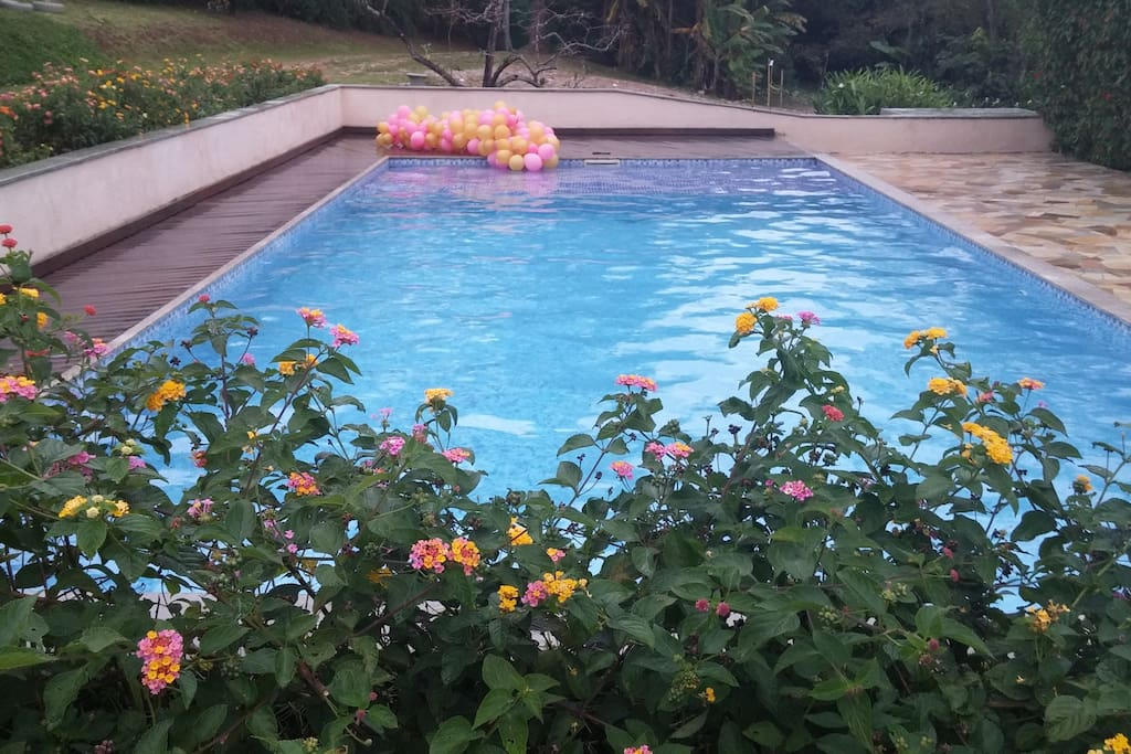 Vista da piscina (2017)