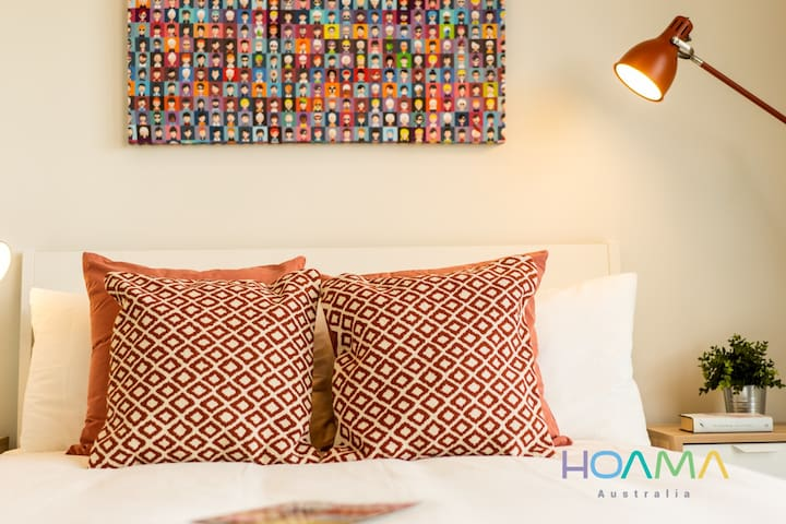 HOAMA - Cosy Brand New Apartment with view