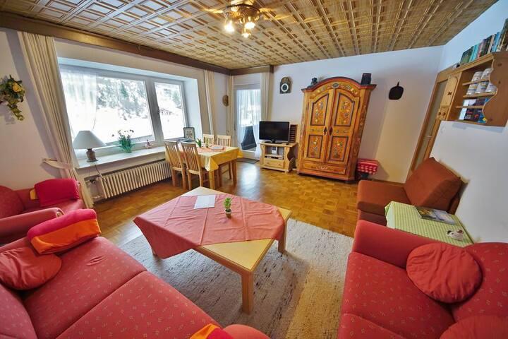 Herrliche Wohnung am Fuße des Karwendels