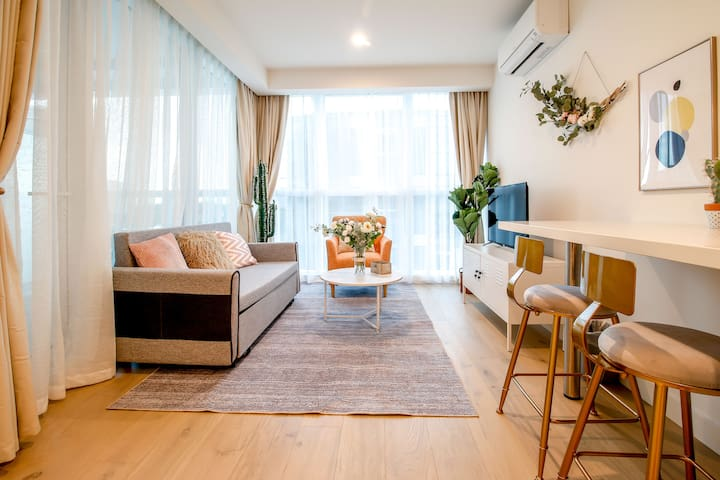 「no.8」 New apartment/1- bedroom/for 1-4 people/CBD