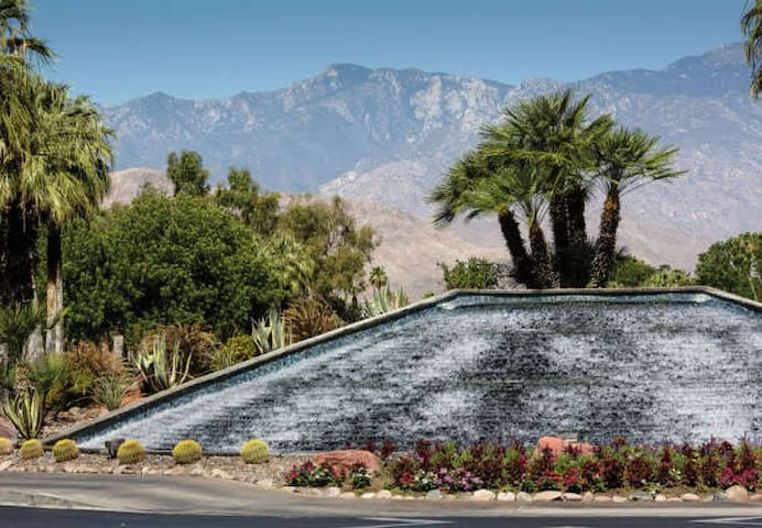Grand Resort Entrance