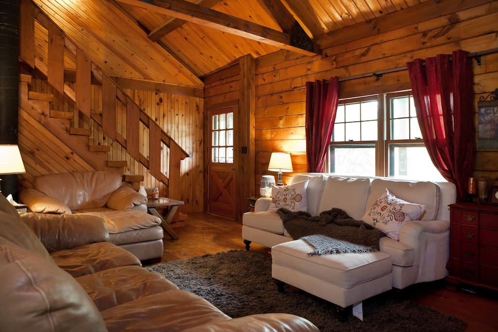 One-of-a-kind Opportunity & Log Home Experience just minutes from DC & close to metro! Best of both worlds!