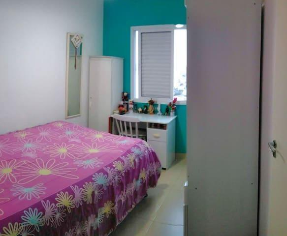 Habitación privada con cama doble, 3 min del metro