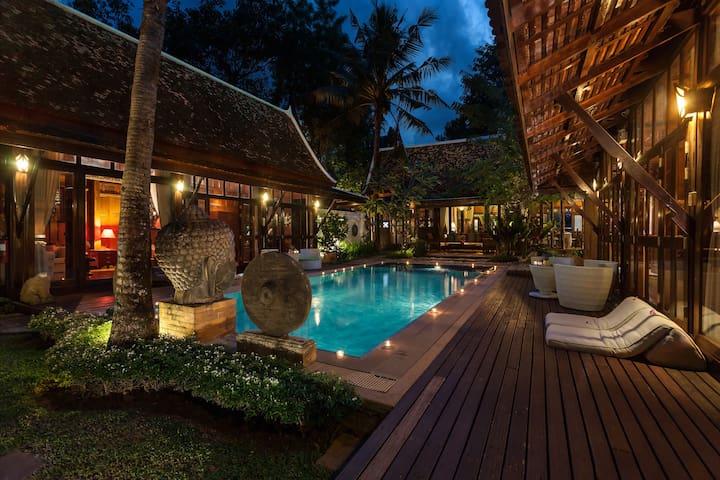 Chiang Mai Luxury Villa - Spa Villa 4-BR