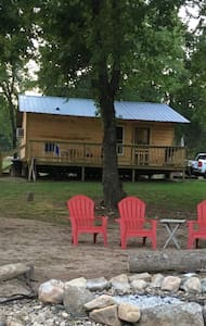 Liberty Cabin, luxury on Collier creek @Caddo Gap