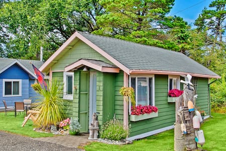 Ocean Spray Cottage #1 - Grayland - Cabane