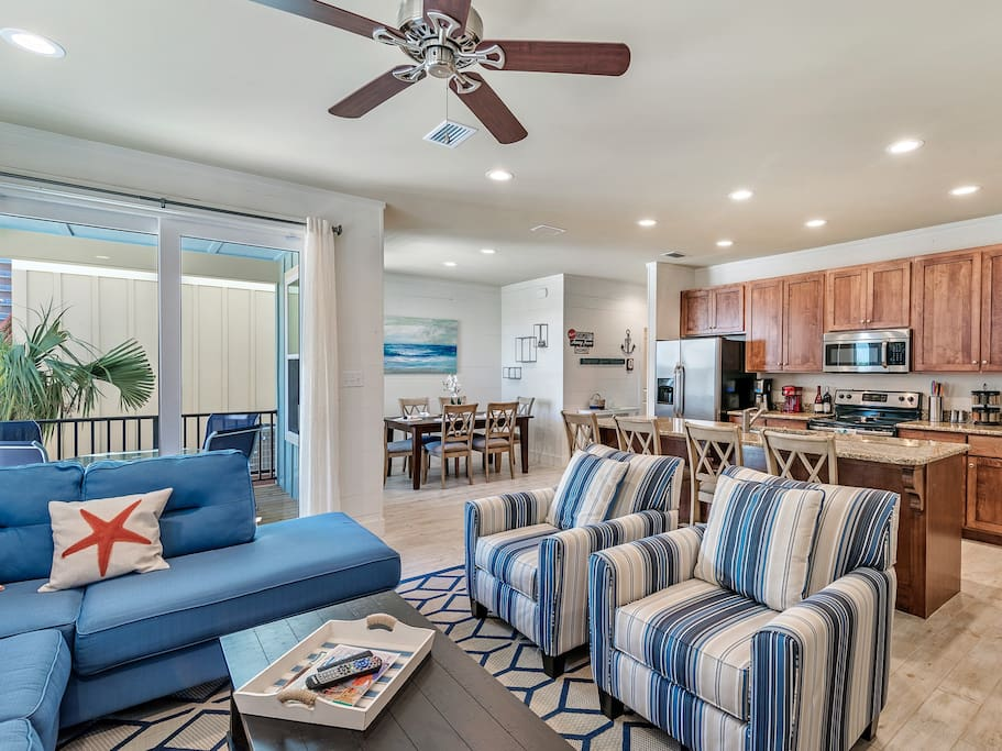 Open concept perfect for entertaining