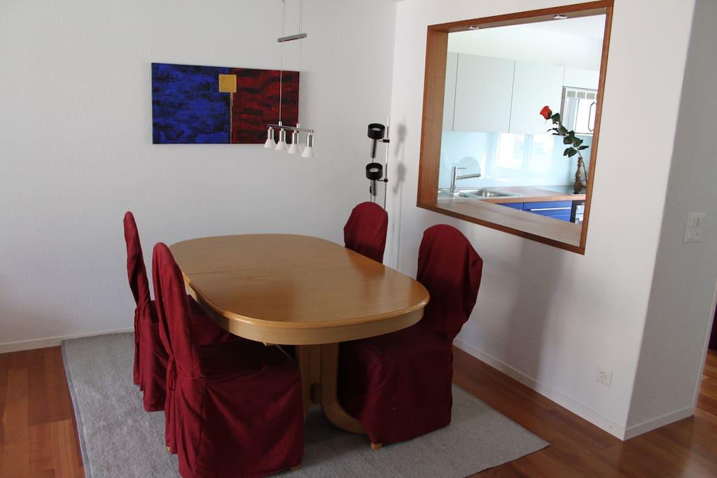 modern eingerichtete ferienwohnung in andermatt wohnungen zur miete in andermatt ur schweiz. Black Bedroom Furniture Sets. Home Design Ideas