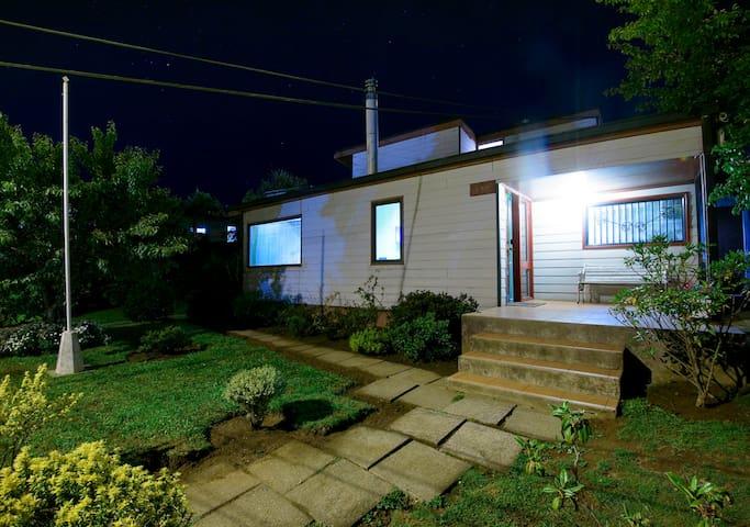 Green Hostel...Habitación Canelo(familias/grupos)