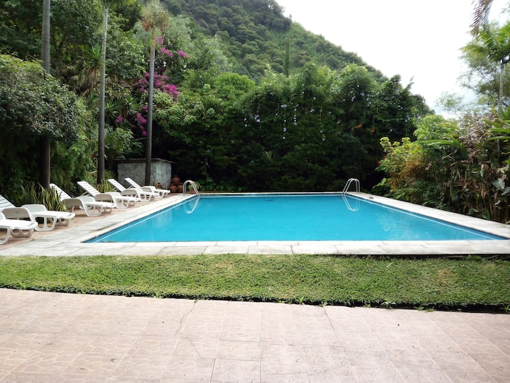 Swimming pool, 7 beds, fully equipped, sport areas