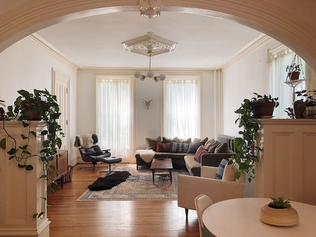 Historic, Bohemian-Inspired Downtown Flat