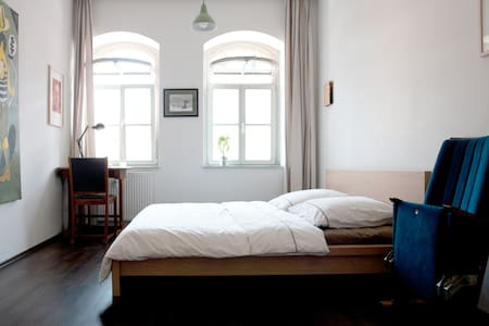 junges, stilvolles Apartment im Dresdner Hecht - 德累斯顿