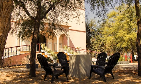 Chandbagh Haveli private rooms with all comforts
