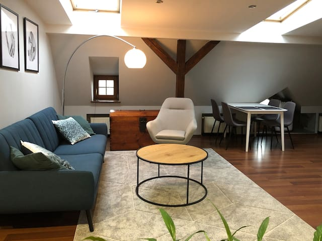 Large modern loft in great location