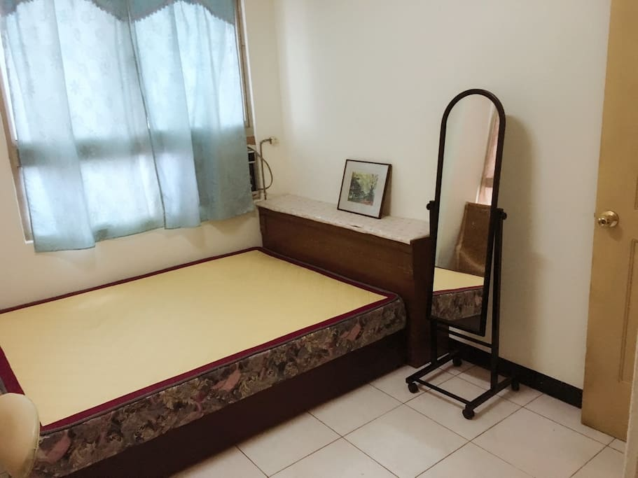 room A with a comfortable bed