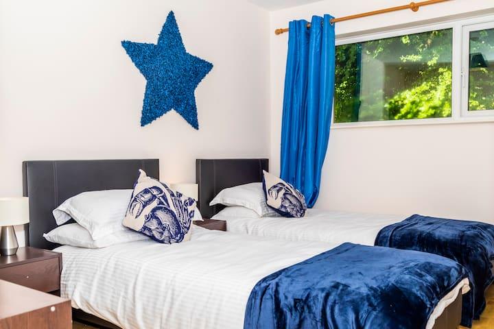 3 bedroom Cornish countryside bungalow