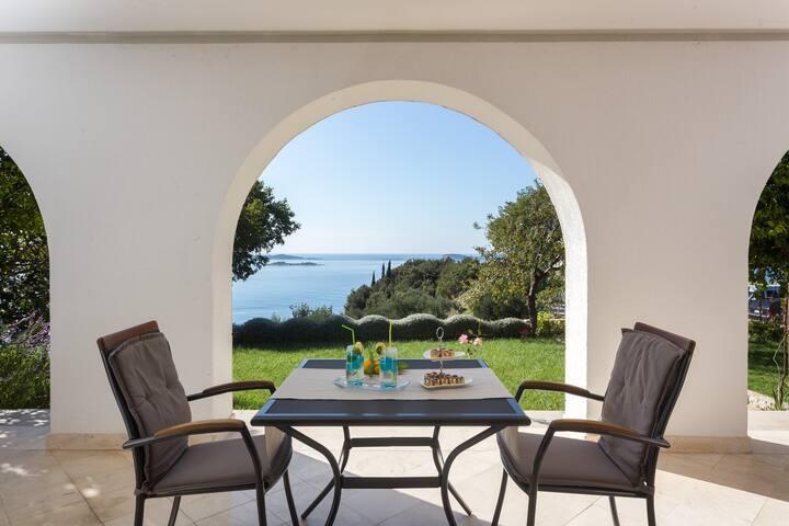 GH Burin- Studio Apartment with Terrace & Sea View - Zaton