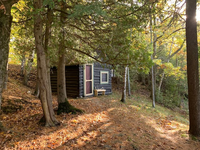 Lakeside Log Cabin on Manitoulin Island