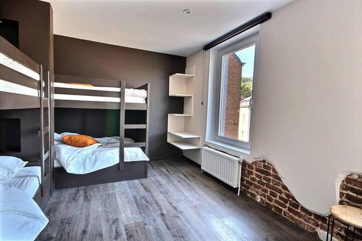 Chambre 2lits superposés (90X200)