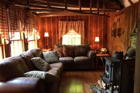 Cozy Log Cabin off Blue Ridge Pkwy - Big Island - Casa de campo