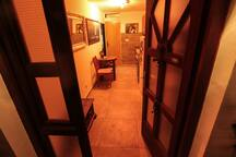 Kitchen / Main Entrance