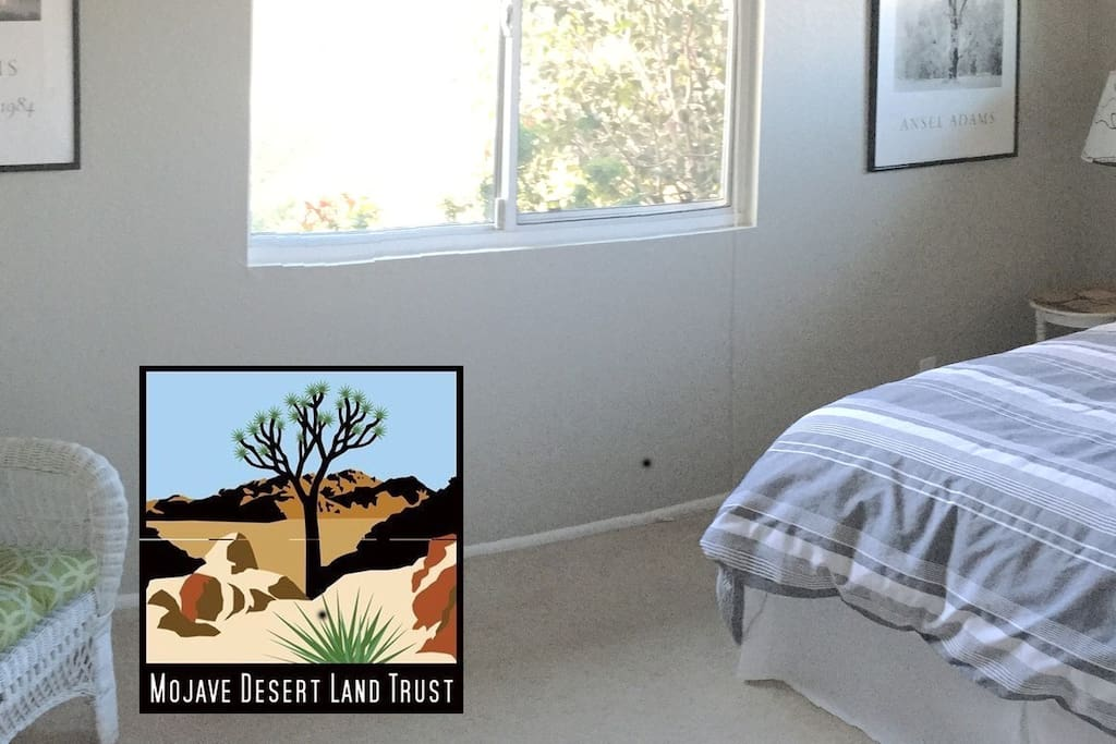 A portion of your rental fee is donated to The Mojave Desert Land Trust.
