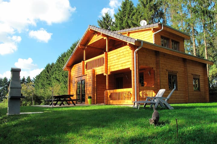 High-class Chalet in Ardennes for 8 people - Poix-Terron - Huis