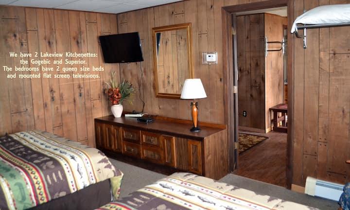 Superior Kitchenette at AJ's Walleye Lodge
