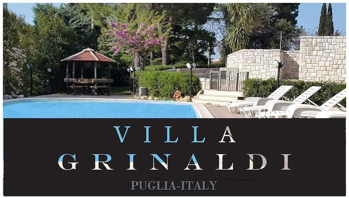 CHARMING APULIAN VILLA WITH POOL- 19 GUESTS