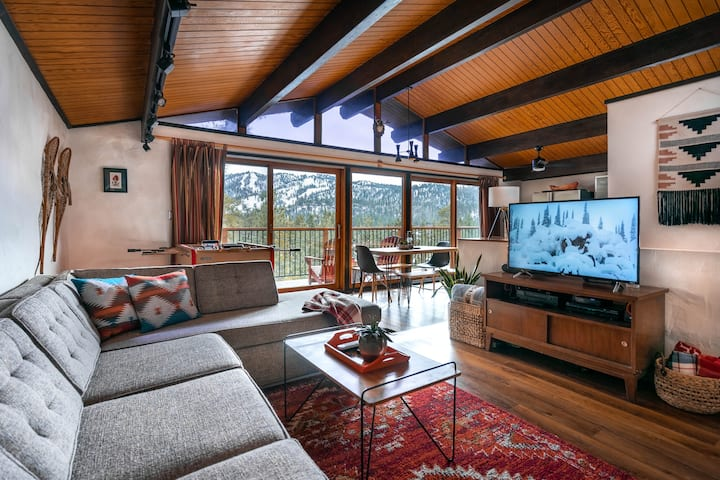 Treehaus Chalet - Panoramic Slope Views!