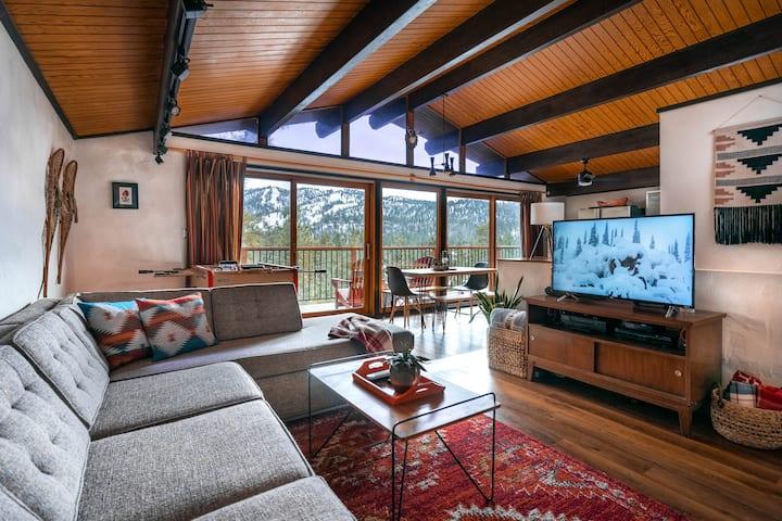 Treehaus Chalet - Panoramic Slope Views!