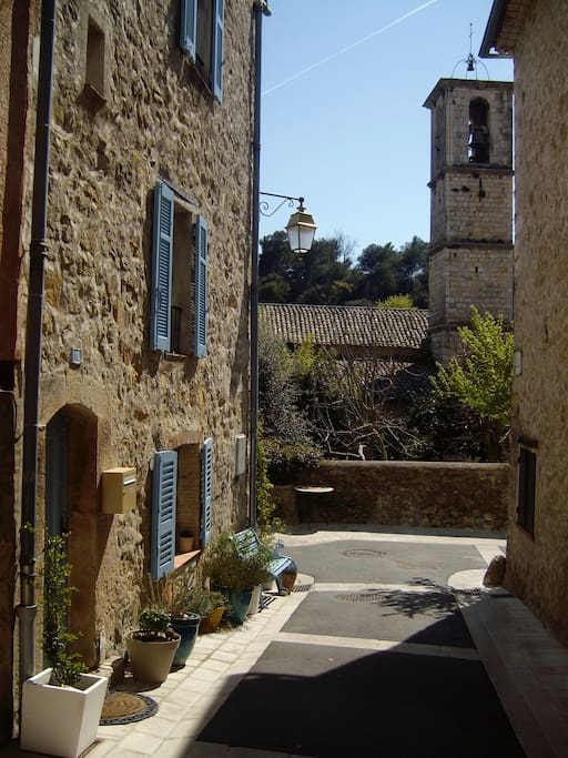 The Old Granary and Valbonne Church
