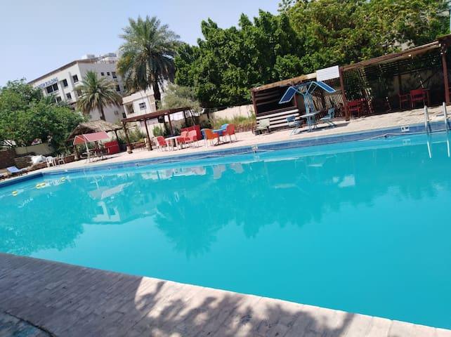 3:AL CAZAR HOTEL ( POOL ,GARDEN AND COFFEE SHOP)