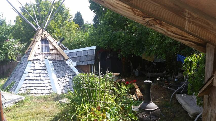 Northwestern wigwam experience - Vernonia - 圓錐形帳篷