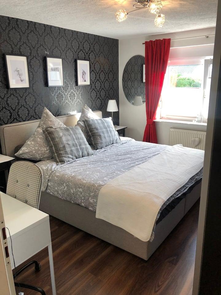 Moderne vollausgestattete 2-Zimmer-Wohnung