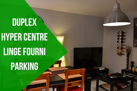 Duplex Cosy de 50m² Hyper Centre près de Rouen - Elbeuf
