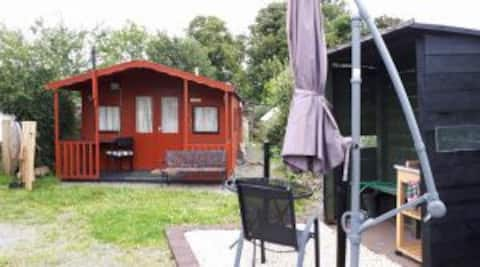 Nadav`s Shed. Your dry camping option in New Luce.