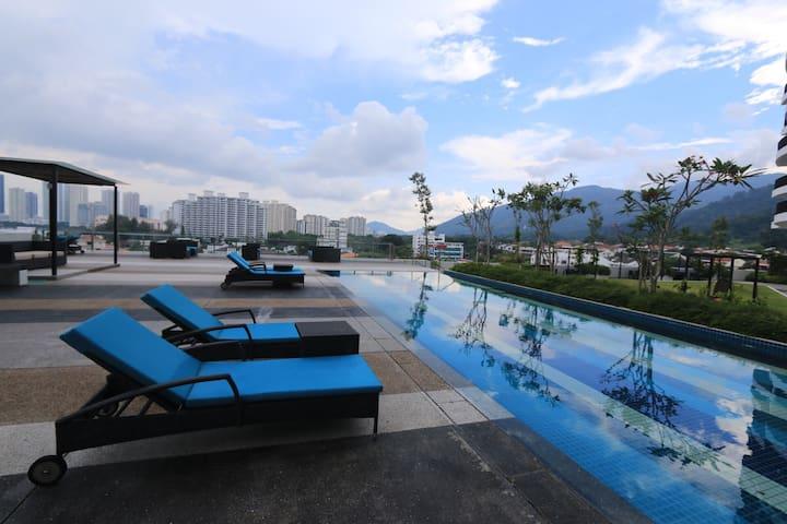 Penang Sea View Condo.