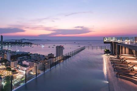 pattaya sea view apartment BASE全新海景酒店式公寓 - Muang Pattaya - Апартаменты