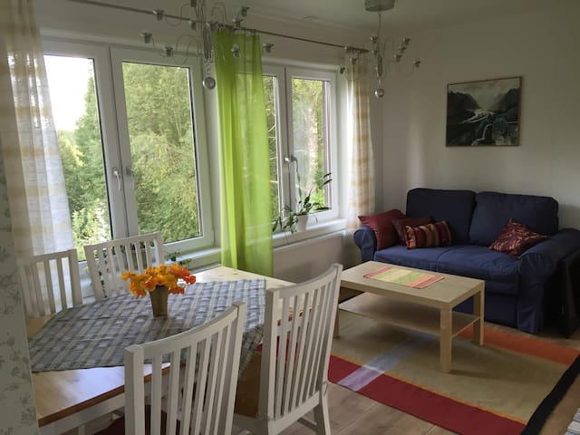 Cozy living by the river - Vännäs - Daire