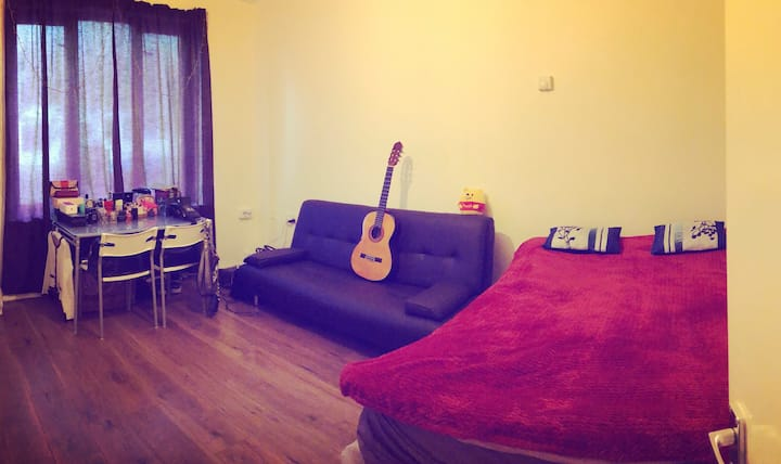 Modern studio for 2-3 people!1Hour/Stanstd Airport