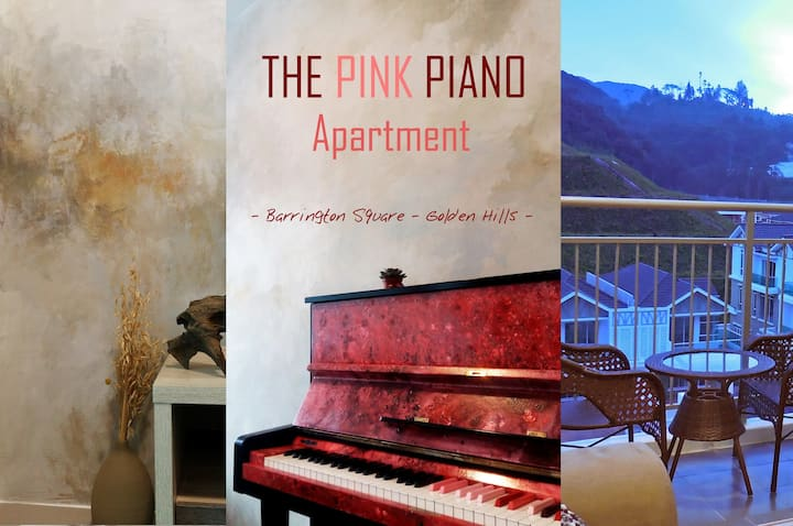 The Pink Piano Apartment@Golden Hills