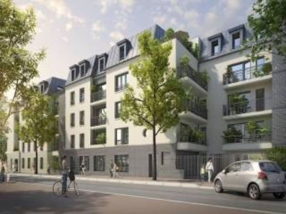 Grand studio 32m2 5mn de paris appartements louer for Appartement a louer a maison alfort