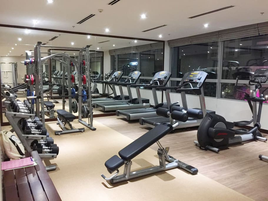 Gym Center with free access