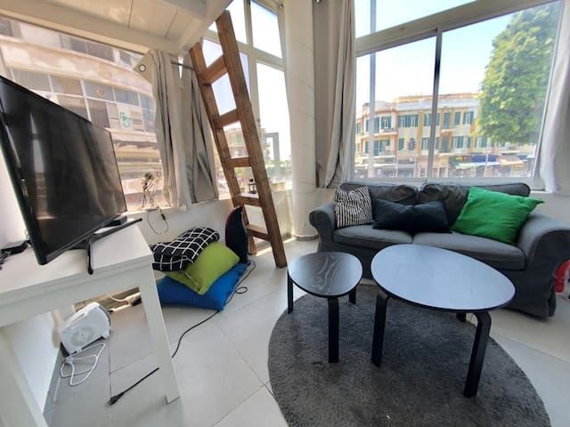 Studio apt in the heart of TLV 8min to the beach