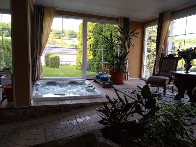 Suite im grünen/ ganzjähriges Wellnessparadies