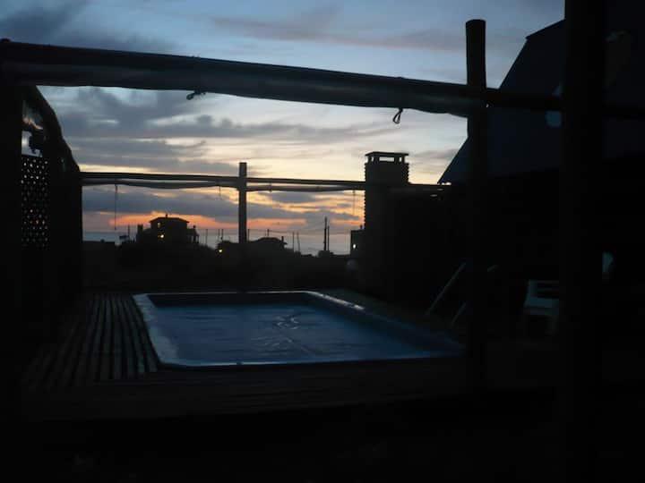 Balcones del sol y la luna 1. Piscina climatizada.