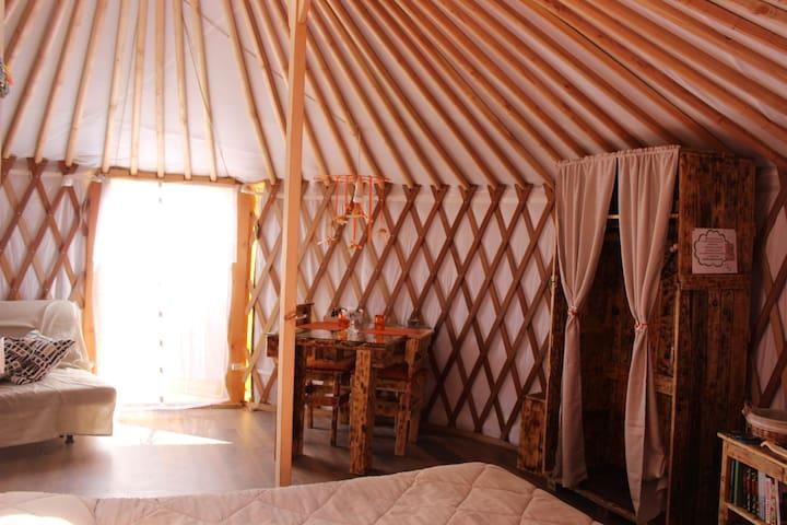 ROMANTICO GLAMPING IN YURTA RELAX - Civitella Paganico - Yurt