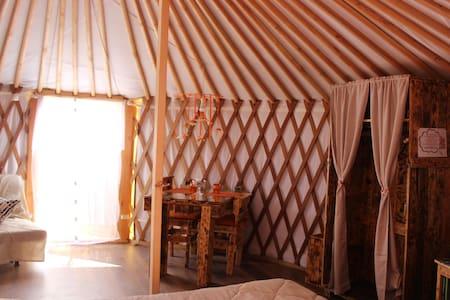 ROMANTICO GLAMPING IN YURTA RELAX - Civitella Paganico - Khemah Yurt
