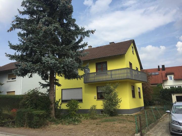 Einfamilienhaus in Bad Rappenau sehr ruhige Lage